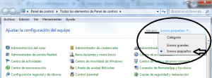 Restaurar el sistema windows 7